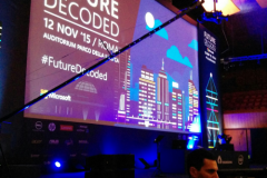Future Decoded della Microsoft a Roma 2015