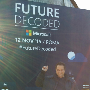 Microsoft Future Decoded Roma 2015