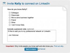 Linkedin Invito