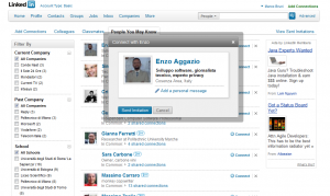 Linkedin: cambia la richiesta di connessione